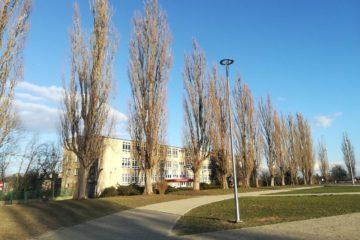 Budynek Szkoły przy ulicy Budziszyńskiej na Pomorzanach