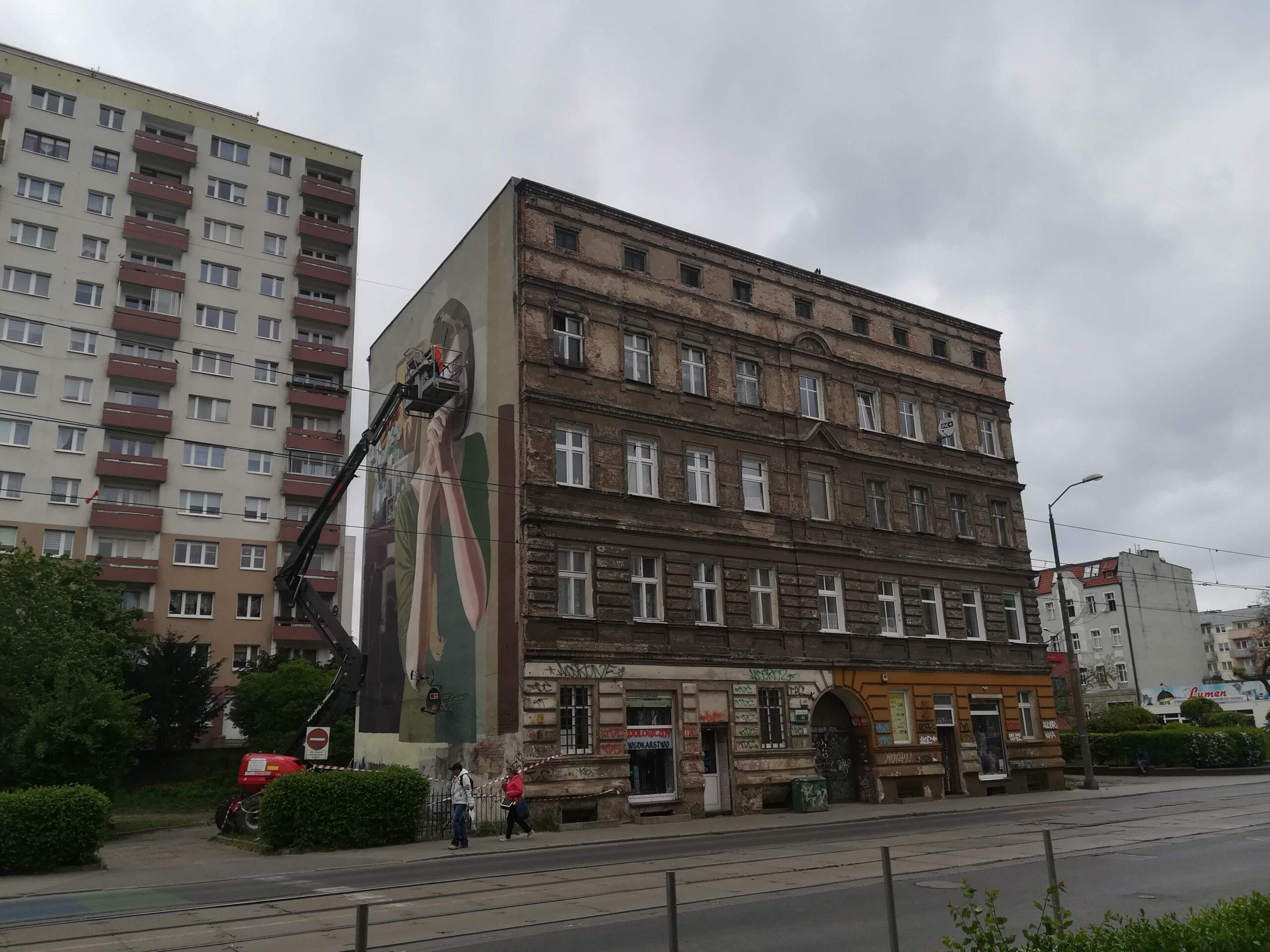 Kolejne murale na Pomorzanach.