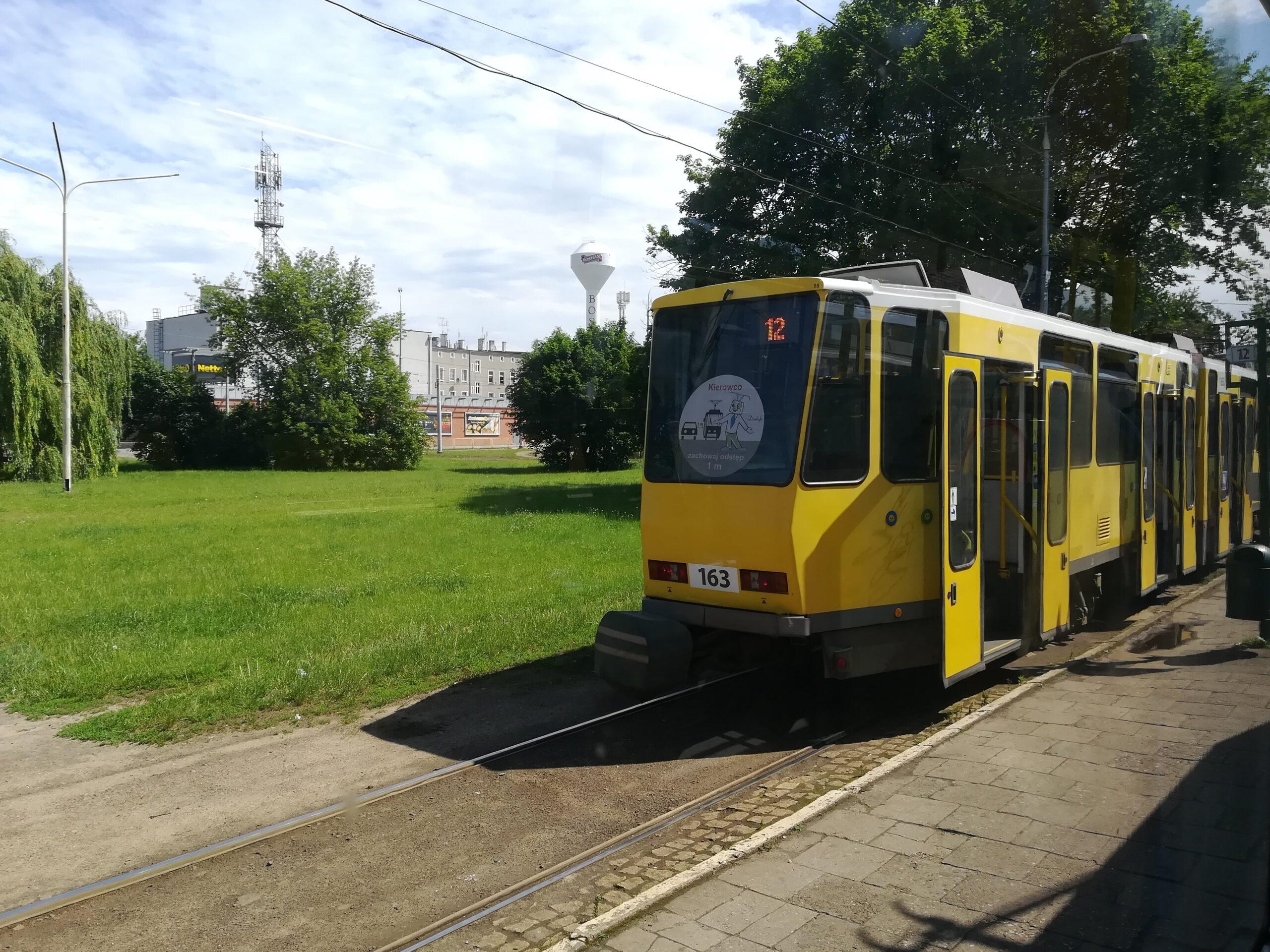 Tramwaje linii 12 na nowych trasach
